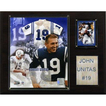 C & I Collectibles 1215JOHNNYU NFL Johnny Unitas Baltimore Colts Plaque du Joueur - image 1 de 1