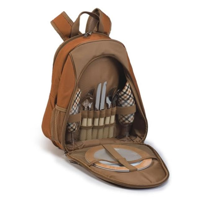 Picnic Plus PS2-216BR Brown Fairmont Picnic Backpack