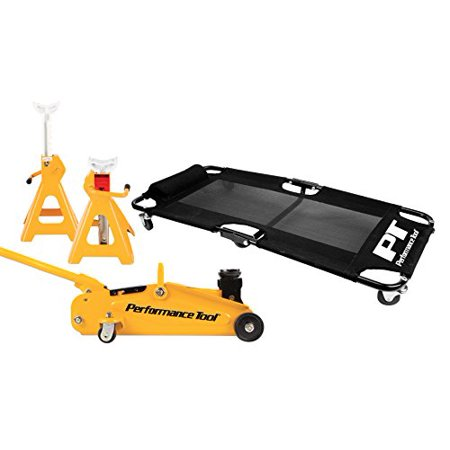 Performance Tool W85030 2 Ton Jack Creeper And Jack Stand