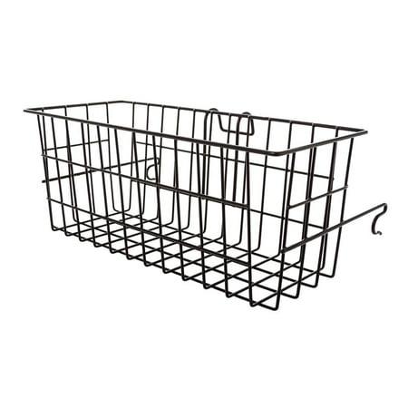 silver spring metal walker basket