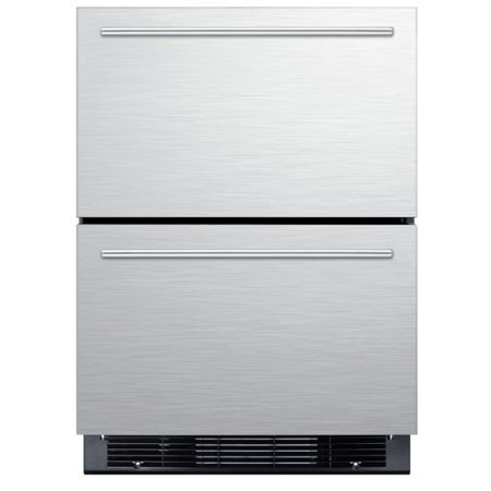 Summit Appliance 23.75-inch 4.8 cu. ft. Convertible Undercounter Refrigerator with Freezer