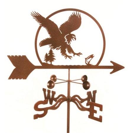 EZ Vane EZ1105-GR Eagle Bird Girouette avec monture de jardin - image 1 de 1