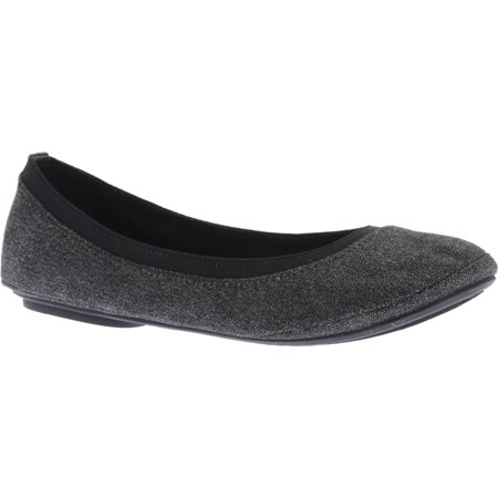 3d49ae7a153 Bandolino Edition Women Round Toe Canvas Gray Flats