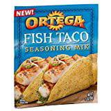 Ortega Fish Taco Seasoning Mix 1 Oz. Pack Of 3.