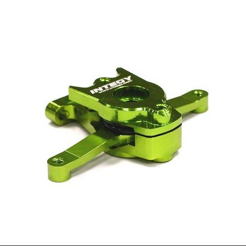 Integy RC Toy Model Hop-ups T3443GREEN Billet Machined Steering Bell Crank for 1 16... by Integy