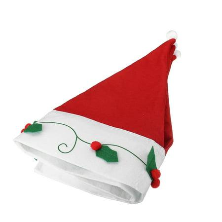 New Year Santa Claus Hats Curtains Window Valance Christmas Decorations Christmas Curtain Decor Ornaments Red (90*42cm) - image 4 de 7