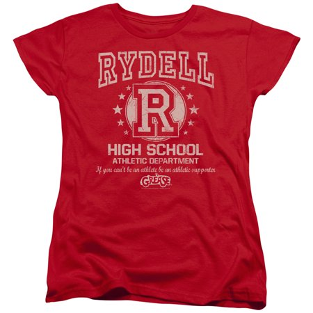 Grease Rydell High Womens Short Sleeve Shirt](Grease Attire For Womens)