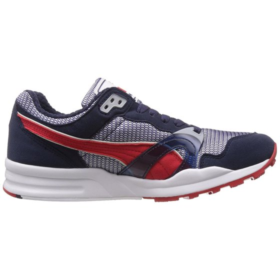 8e57417360c8 PUMA - Puma Trinomic XT 1 Plus Mens Navy Red Sneakers - Walmart.com