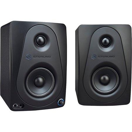 "Sterling Audio MX3 3"" Active Studio Monitor Pair, Black"
