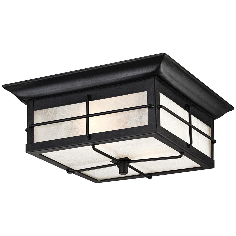 Porch Light Walmart: Orwell Two-Light Outdoor Flush Fixture