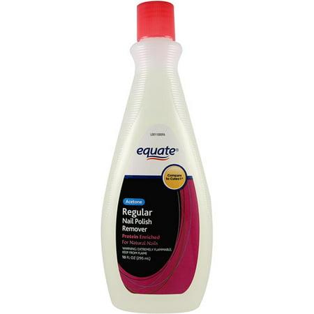 Equate Regular Nail Polish Remover 10 Fl Oz