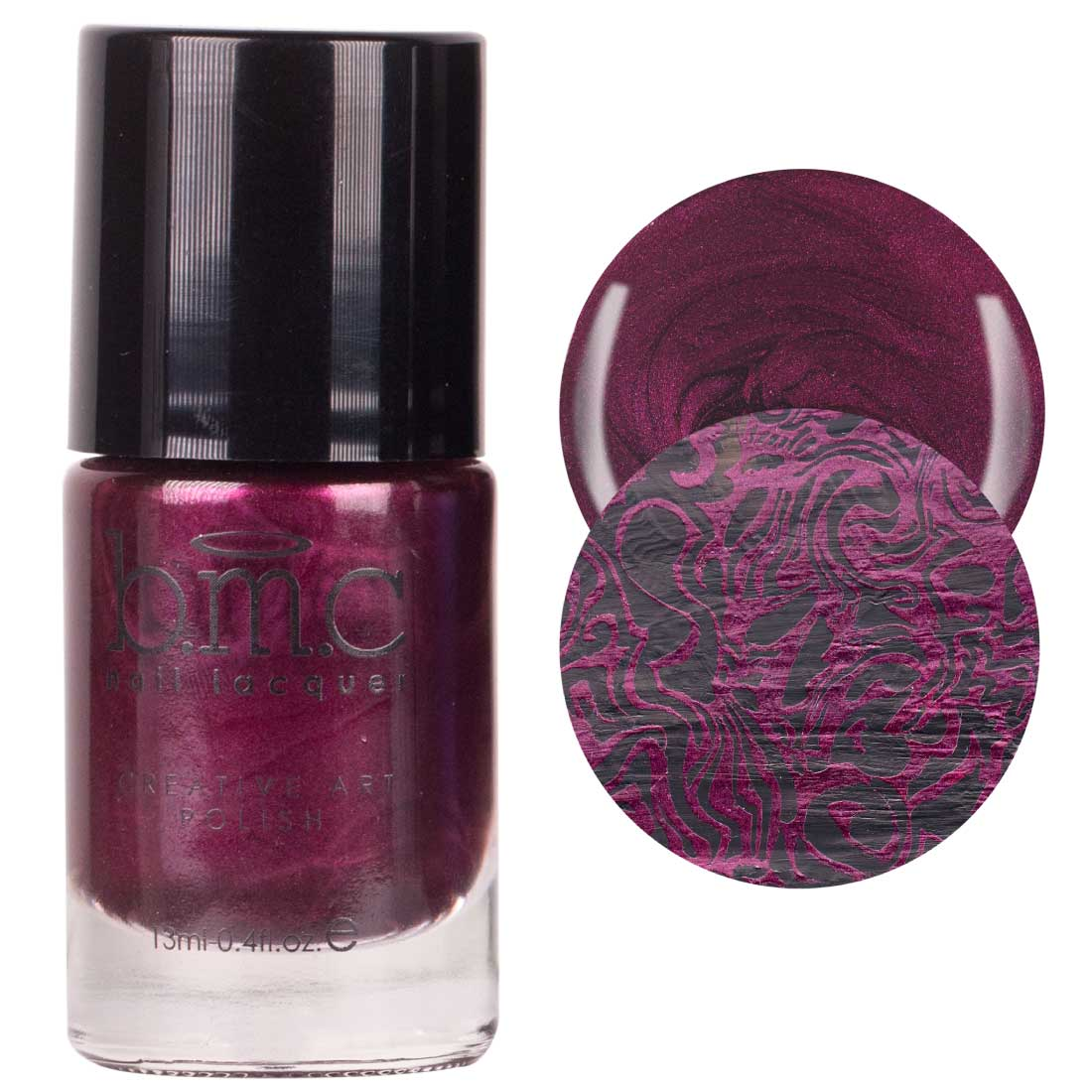 BMC Grimm's Nightfall Metallic, Shimmery, Dark Duochrome Halloween Fall Fashion Highly-Pigmented Creative Nail Art Stamping Polish Full Collection - Various Colors