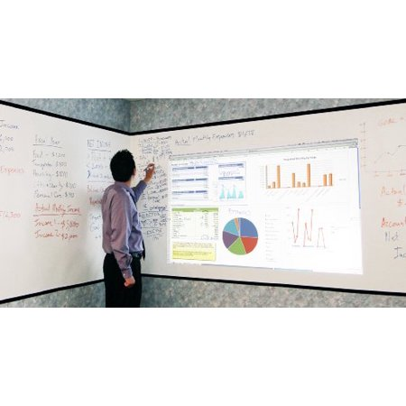 Elite Screens Insta-DE2 Series, 5' x 30', Dry Erase Whiteboard Projection Projector Screen Film,... by
