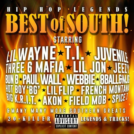 Hip Hop Legends-best Of The South! / Various (CD) (Best Dance Moves Ever Hip Hop)