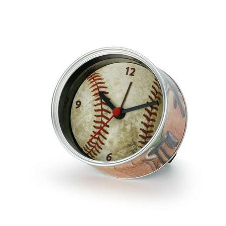 Demdaco Man Gear 3005051105 Big Sky Carvers Baseball Clock-n-Can