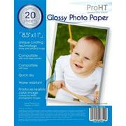 "Photo Paper 8.5"" x 11"" 20 Sheets"