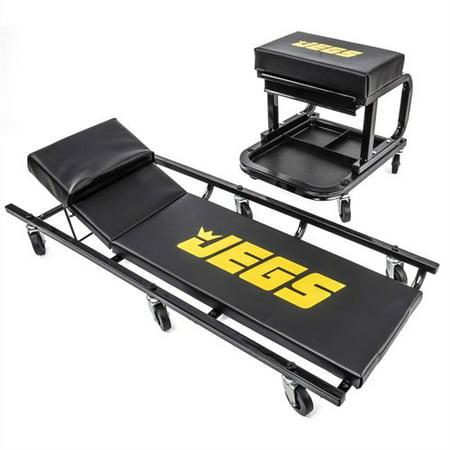 (JEGS 81150 Creeper & Mechanic Seat Set)