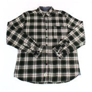 Boston Traders NEW Green Mens Size XL Plaid-Flannel Button Down Shirt