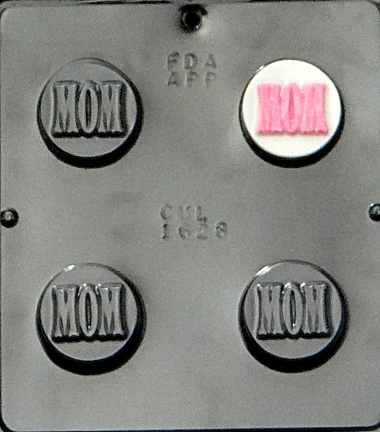 "1628 ""Mom"" Oreo Cookie Chocolate Candy Mold by"