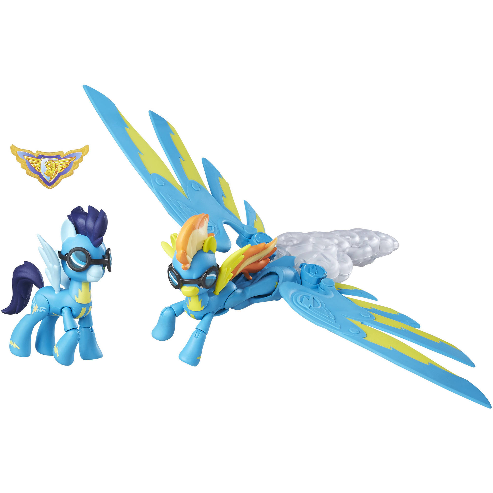 My Little Pony Guardians of Harmony Spitfire and Soarin' Figures