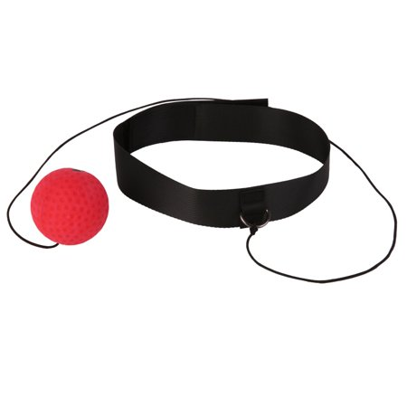 MAXSUN Fighting Ball Boxing Tool Reflex Speed Reaction Punch Combat Muscle Trainer ()