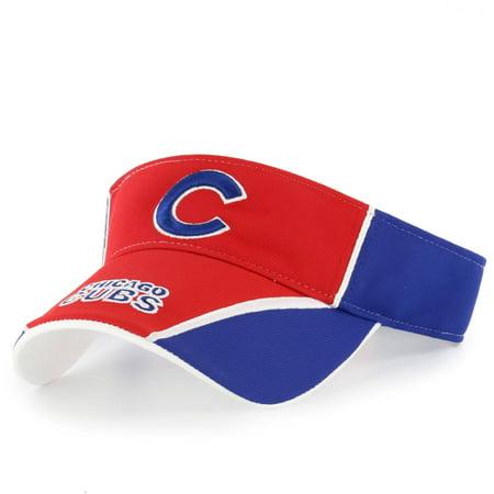 Mlb Chicago Cubs Segment Visor Adjustable Cap Hat By Fan Favorite