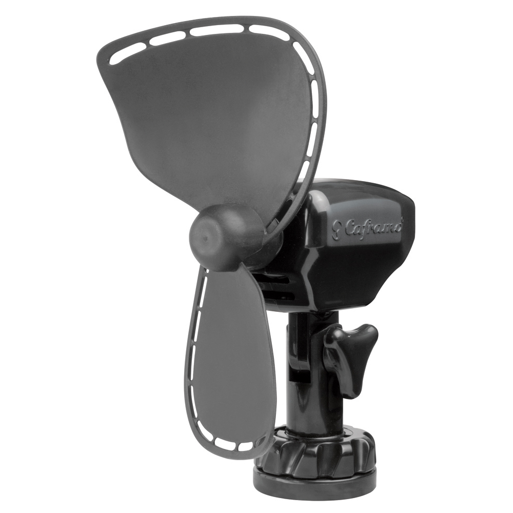 Caframo Ultimate 2-Speed Compact 12VDC Fan with Lighter Plug & Suction Cup Mount