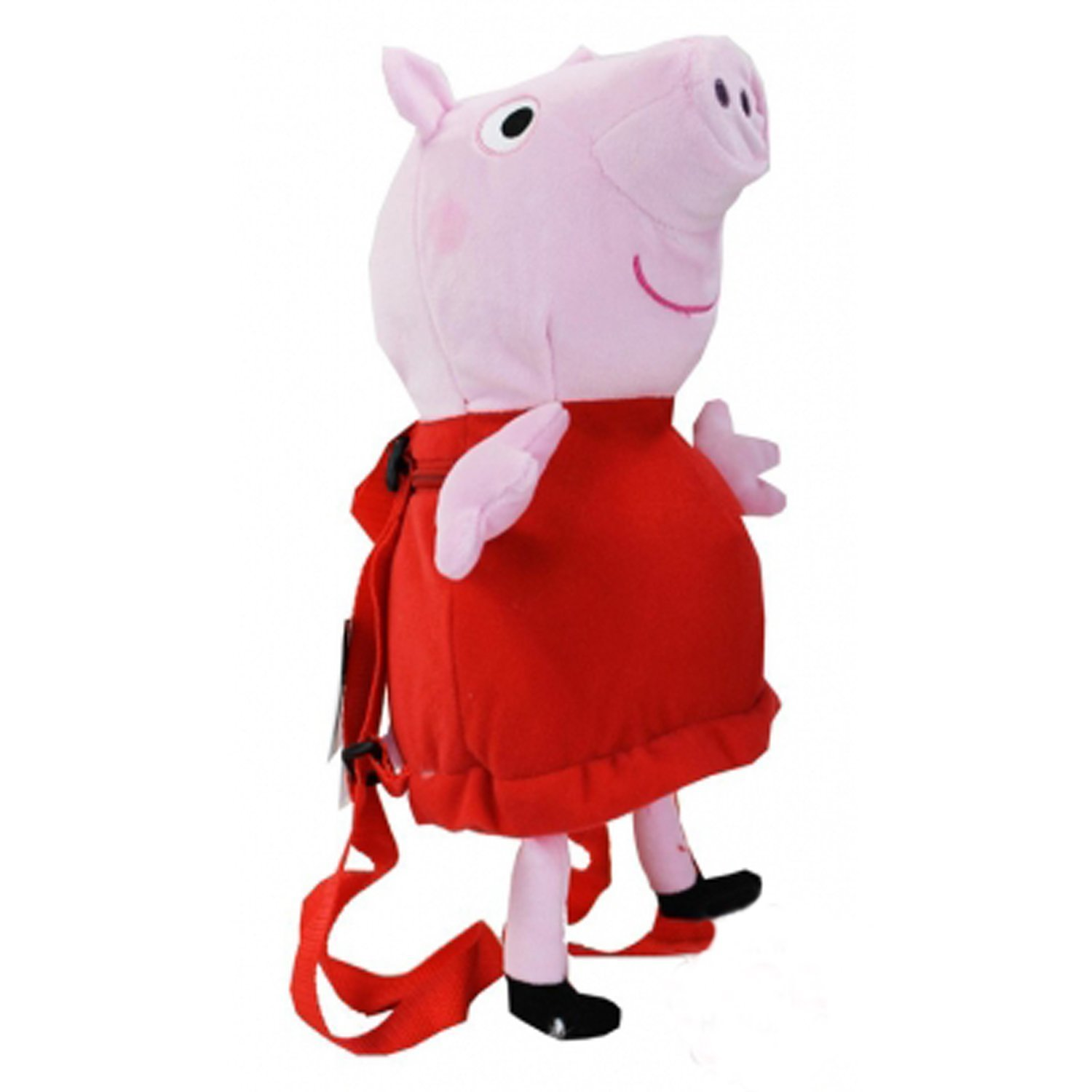 "Plush Backpack - Peppa Pig - 12"" Soft Doll Toys New Licensed 105383"