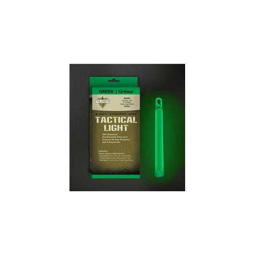Tac Shield TGTCSH-03076G 6 inch 12 Hour Tactical Light Sticks Single in Green-Pack of 6