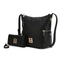 MKF Collection Lux Hobo Bag and Wallet (Various Colors)