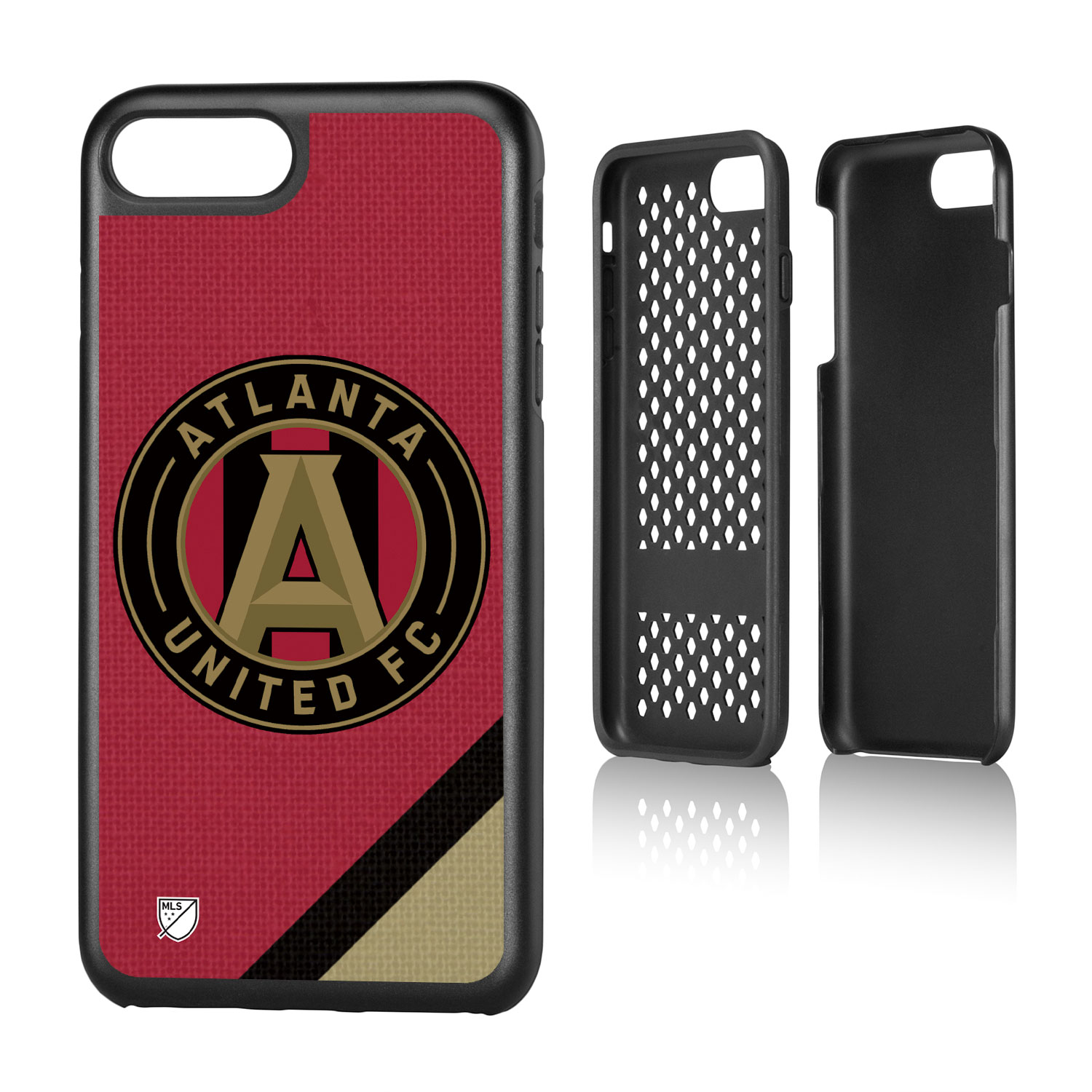 Atlanta United FC ATLUTD Solid Rugged Case for iPhone 8 Plus / 7 Plus