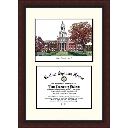 "Baylor University 11"" x 14"" Legacy Scholar Diploma Frame"