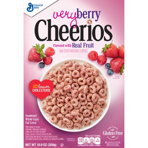 Very Berry Cheerios (Pack of 10)