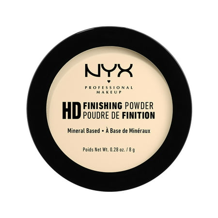 NYX Professional Makeup High Definition Finishing Powder, Banana](Banana Mascot)