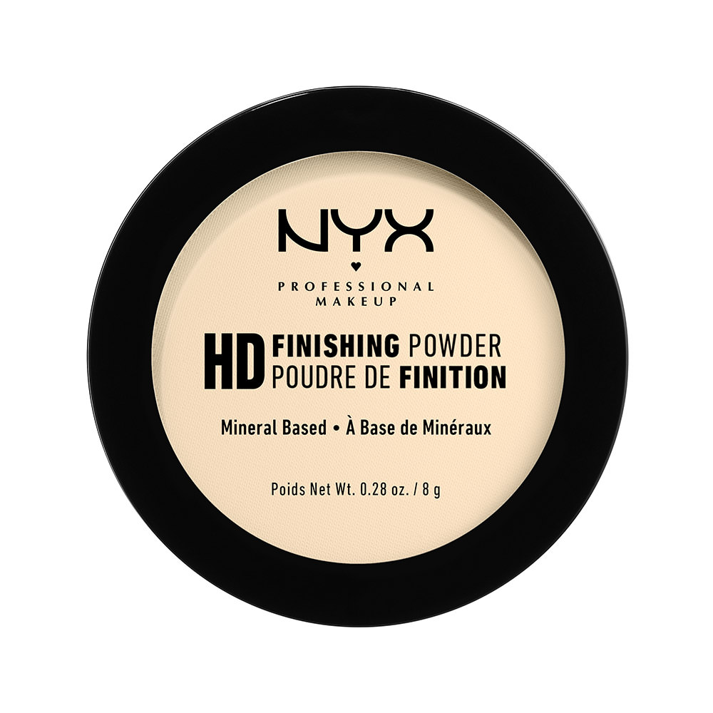 NYX Professional Makeup High Definition Finishing Powder, Banana