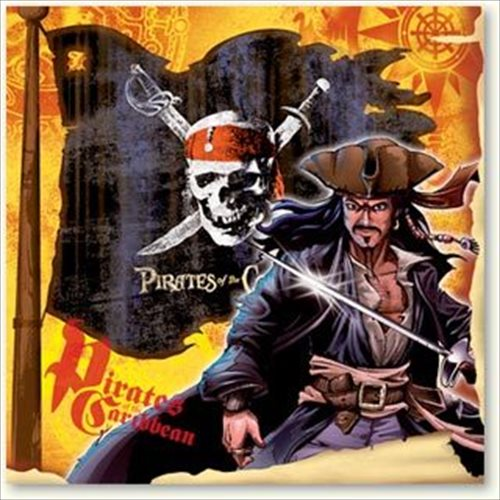 Pirates of the Caribbean Small Napkins (16ct)