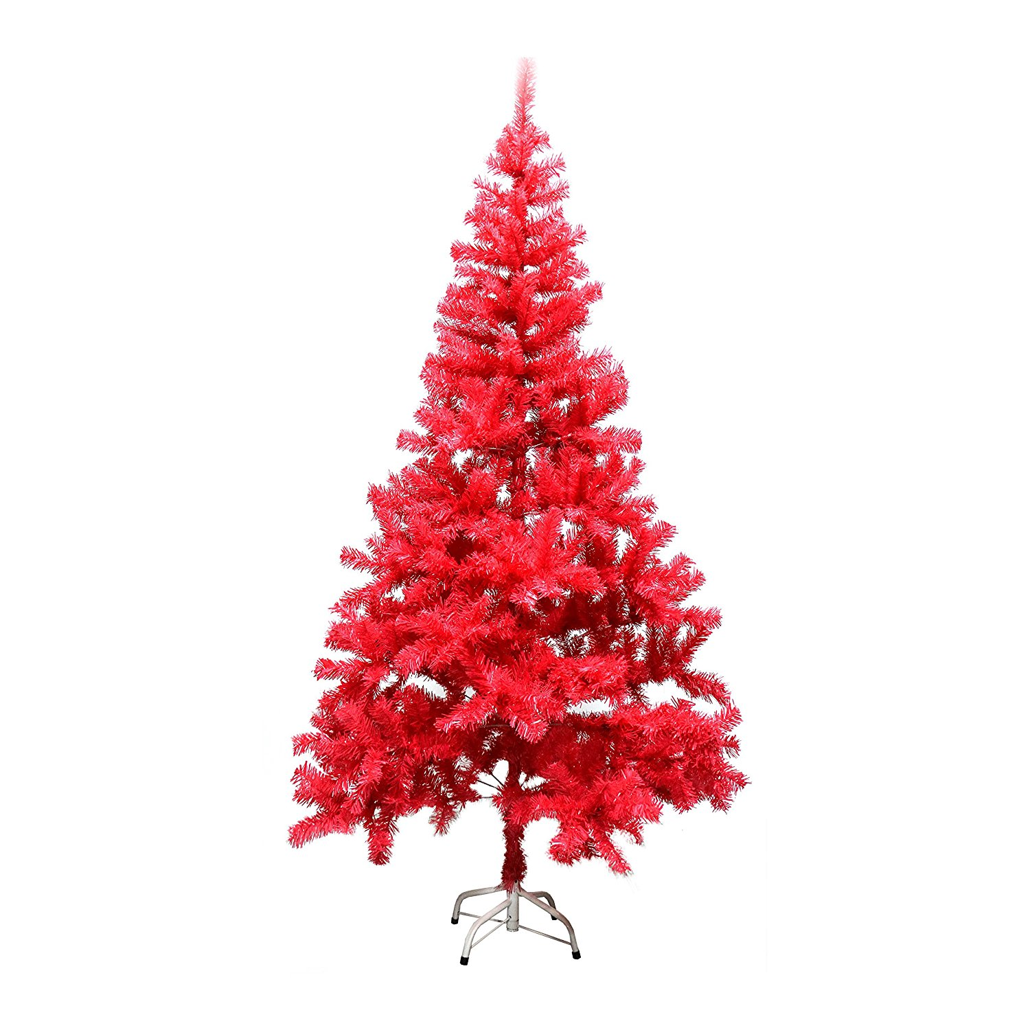 ALEKO CTP70H650 6-Foot Tall Artificial Holiday Plastic PVC Tree, Pink