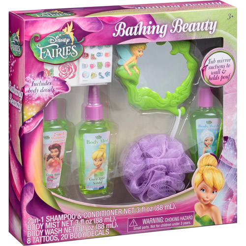 Disney Fairies Bathing Beauty Gift Set, 31 pc