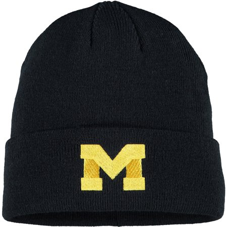 Men's Navy Michigan Wolverines Cuffed Knit Hat - (Retro Cuffed Knit Hat)