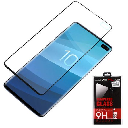Samsung Galaxy S10 PPremium Tpu Shock Proof Screen Protector, Scratch Free Screen Protector for Galaxy S10 - Black - image 2 of 3