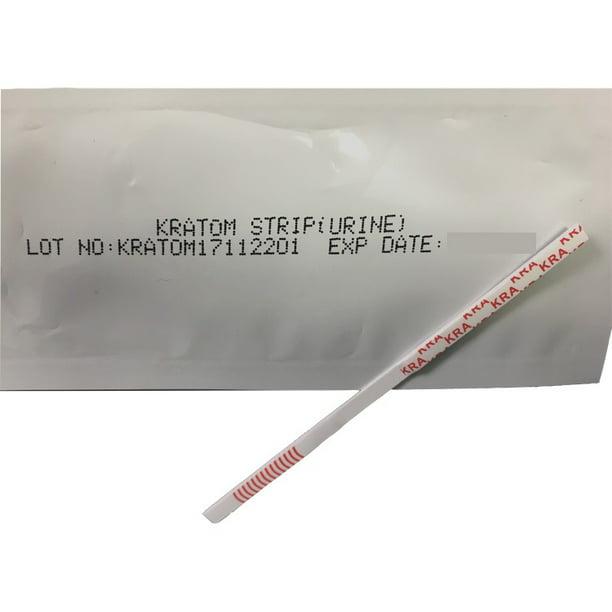 25 Pack Kratom Urine Drug Test Kit Test For The Use Of Kratom In Urine Test Strips That Can Detect If Someone Used Most Kratom Strains Walmart Com Walmart Com