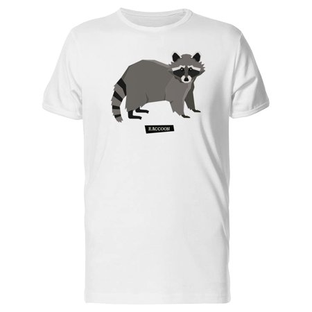 Beautiful Raccoon Graphic Tee Men