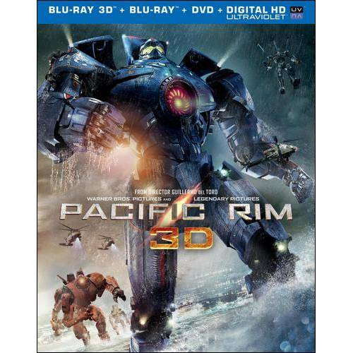 Pacific Rim (3D Blu-ray   Blu-ray   DVD   Digital HD) (With Ultraviolet) (Widescreen)