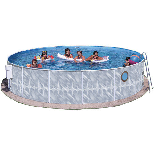 Heritage Pools 42'' Round Pool Package with Port Hole
