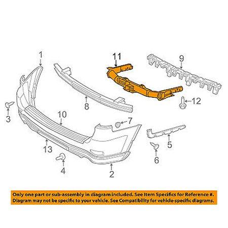CHRYSLER OEM Rear Bumper-Impact Reinforcement Bar Rebar 52124606AF