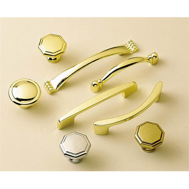 BWP14848 26 Conquest 1. 38 inch Cabinet Knob, Polished Chrome