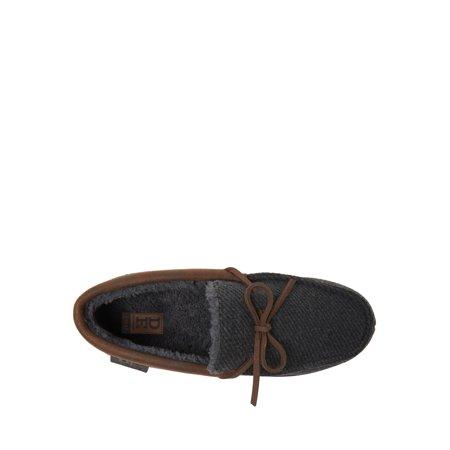 DF by Dearfoams Men's Moccasin Slippers