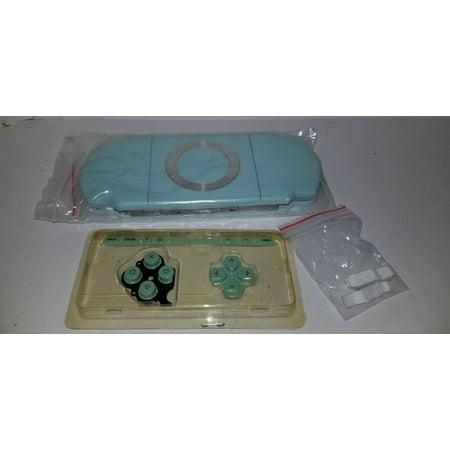Powder Blue Full Housing Replacement Case Shell Kit For PSP 2000 2001 i29