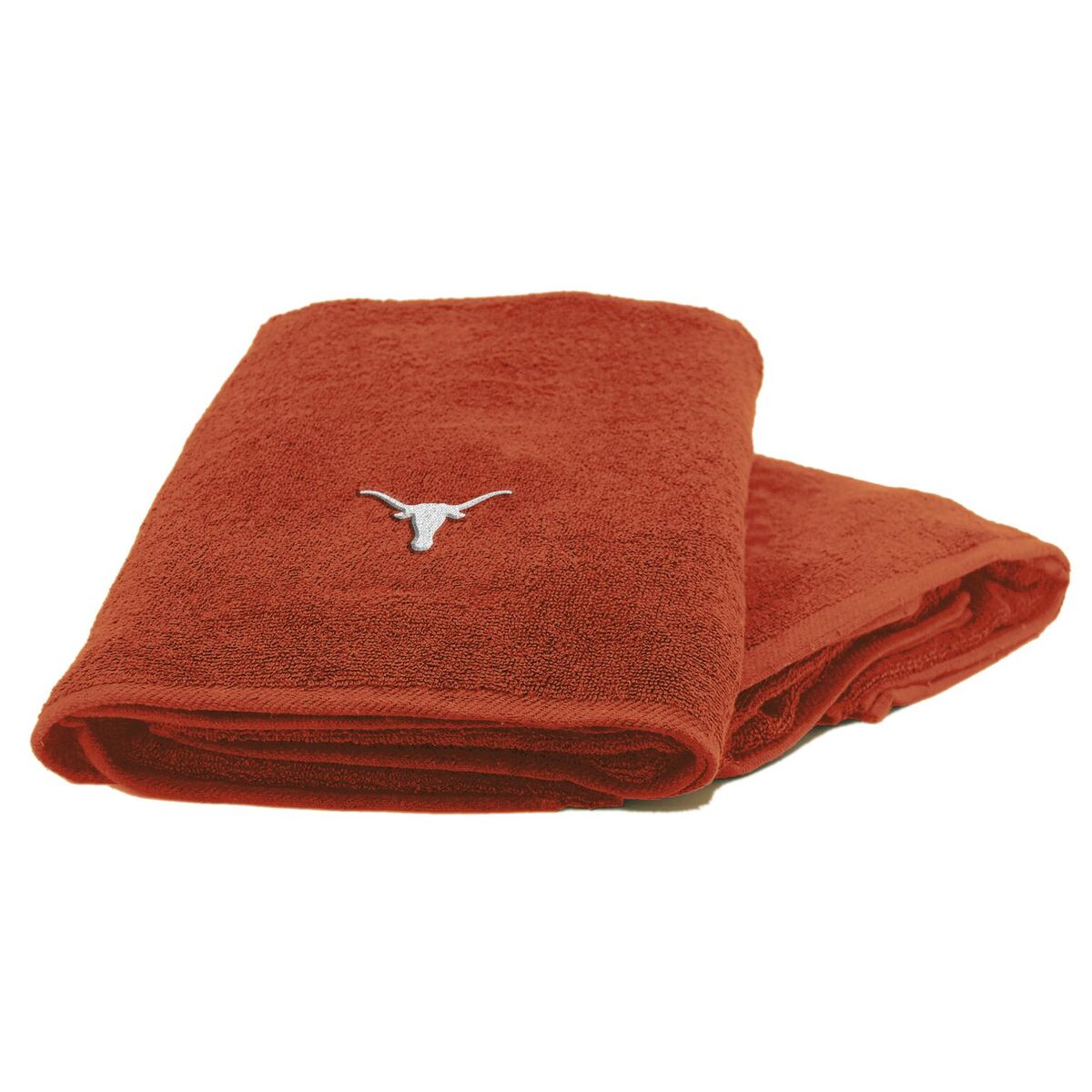 Texas Longhorns 2-Piece Towel Set, With 26x15 Hand and 25x50 Bath Towel