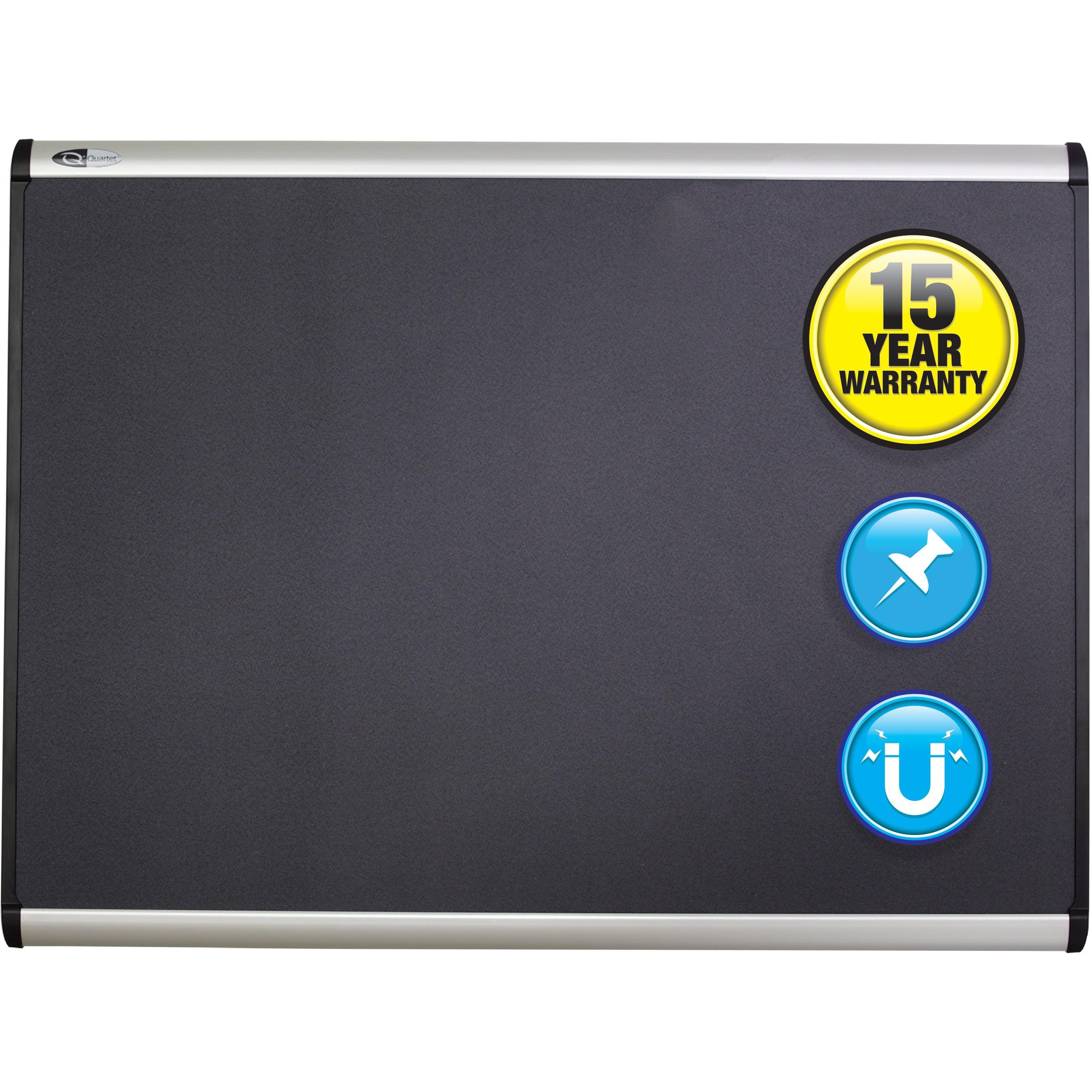 Quartet, QRTMB544A, Alum Frame Magnetic Fabric Bulletin Boards, 1 / Each